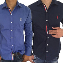 Camisa Social Sergio K Armani Reserva Fred Perry