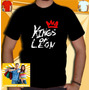 Camiseta Kings Of Leon Camisa Banda Masculina Banda Rock