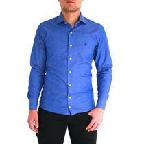 Roupa Masculina Da Moda Camisas Sociais Duas Cores