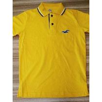 Camisa Polo Hollister 100% Original Importada