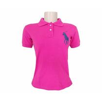 Camisa Polo Ralph Lauren Feminina Lisa Mod.13 + Frete Gratis