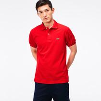 Camisa Camiseta Polo Lacoste Varias Cores Original Pronta En