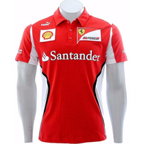 Camisa Polo Puma Ferrari F1 Team Sport Pronto Entrega