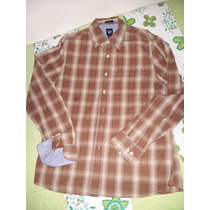 Camisa Social Gap Slim Fit Xadrez - Ralph Tommy Boss