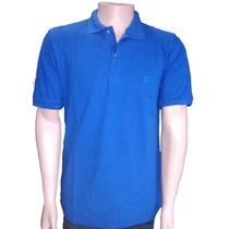 Camisa Gola Polo Masculina Lisa 100% Algodão P, M, G E Gg