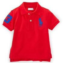 Camisa Gola Polo Infantil Polo Ralph Lauren Original