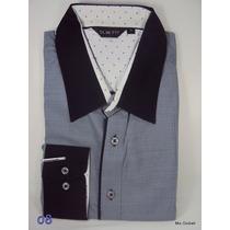Camisa Social Slim Fit Importada Masculina Italiana