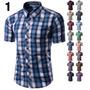 Camisa Social Slim Fit Importada Moda Country Frete Grátis