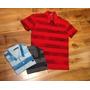 Camisa Camiseta Polo Masculina Listrada Original Cores
