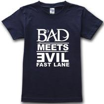 Camisa Eminem Bad Meets Evil (fast Lane)