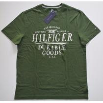 Camiseta Básica Tommy Hilfiger: Tamanho P / S Nova Original