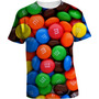 Camisa Doces M&m - Camiseta Comida Chocolate M&m