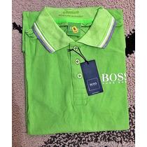 Pólo Hugo Boss Green Modern Original Promoção