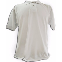 Camisa Polo Masculina Lisa Tamanho Especial