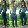 Camisa Feminina Jeans Nacional Linda Lojas Bh Especial