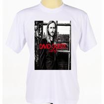 Camisa Camiseta Personalizada Adulto Cantor David Guetta