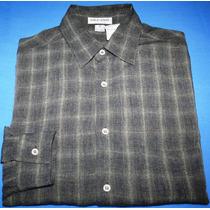Camisa Social Giorgio Armani Tam. P / 38 Original