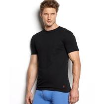 Ralph Lauren : Camisa Básica Masculina Preta M