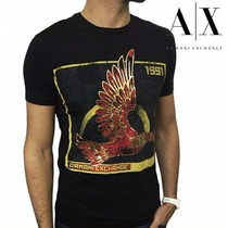 Camiseta Armani Exchange Original Masculina Frete Grátis