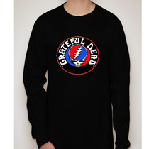 Camiseta Manga Longa Banda The Grateful Dead