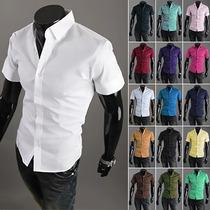 Camisa Social De Luxo Importada Slim Fit Frete Grátis