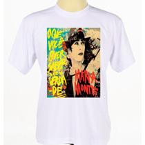 Camisa Personalizada Banda Cantora Marisa Monte Pop Samba