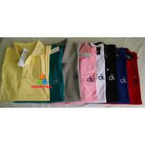 Kit 3 Camisa Polo Calvin Klein Masculina
