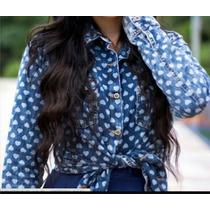 Blusa Jeans Importada Pronta Entrega Super Fashion