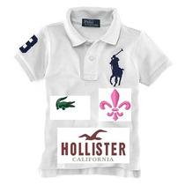 Camisa Gola Polo Feminina De Marca Hco, Lacoxt, Tommy