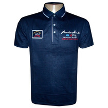 Camisa Polo Paul & Shark Azul Marinho Ps55