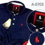 Camisa Polo Azul Marinho, Garantia De Qualidade Original