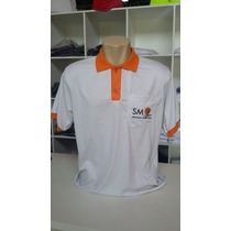 10 Camisas Pólo Bordada Uniformes