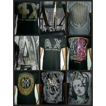 Camisetas Armani Exchange Original Kit Com 9 Peças