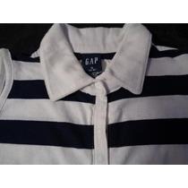 Camisa Pólo Infantil Gap P (5-6) Original Seminova 100%cotto