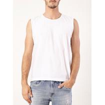 Camisa Regata Machão Abadá Branca Para Sublimação