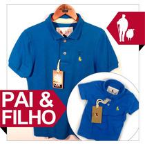 Tal Pai E Filho Camisa Polo S&foriginal Qualid. De Importada