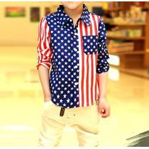 Camisa Bebê Infantil Menino Bandeira Social Criança Manga
