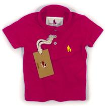 Camisa Polo/body Infantil Qualidade Importada Original Cor19