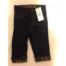 Calça Jeans Bebê Tommy Hilfiger Tamanho 12 Meses