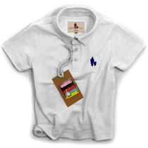 Camisa Polo/body Infantil Qualidade Importada Original Cor8