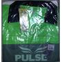 Camisa E Short De Arbitro Pulse Cbfs Oficial - Tam P - Verde