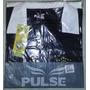 Camisa E Short De Arbitro Pulse Cbfs Oficial - Tam P - Preto