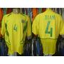 Brasil Copa Das Confederações 2003 Camisa De Jogo 4 Juan.