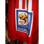 Paraguai - Camisa 2010 Titutar Formotion De Jogo # 18