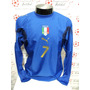 Camisa Itália Home 06-07 Manga Longa Del Piero 7 Patch Imp