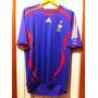 Camisa Seleção França Copa 2006 Adidas Original Da Epoca
