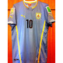 Camisa Do Uruguai Copa Do Mundo 2014 Forlan Completa