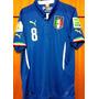 Camisa Da Itália Copa Do Mundo 2014 Marchisio Completa