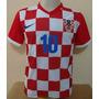 Camisa Croacia 2015 N°10 Modric