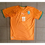 Camisa Original Costa Do Marfim 2010 Home #11 Drogba